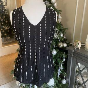 White House Black Market knit sleeveless top